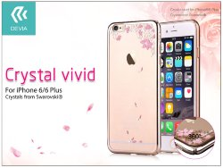 Накладка Devia Crystal vivid for iPhone 6S/6 Plus Акция -56%