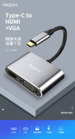 Переходник Rock Type-C to HDMI+VGA Converter RCB0689