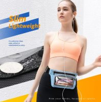 Чехол на пояс Rock Slim Sports Waist bag transparent window version rst1038