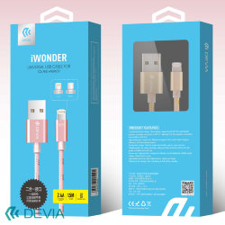Кабель Devia iWonder universal USB cable for IOS and Andriod