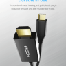 Кабель-адаптер Rock Type C to HDMI Cable 1.8M  RCB0579