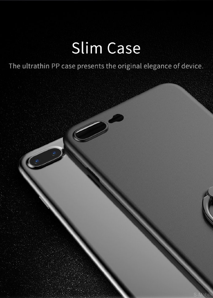 Накладка Rock Ring Holder PP Protection Case iPhone 7 Plus