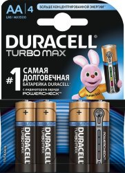 Элемент питания DURACELL  LR6  BL4 ULTRA POWER  (80/18240)