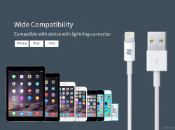 Кабель USB на Lightning Rock Space S06 Charge & Sync round cable