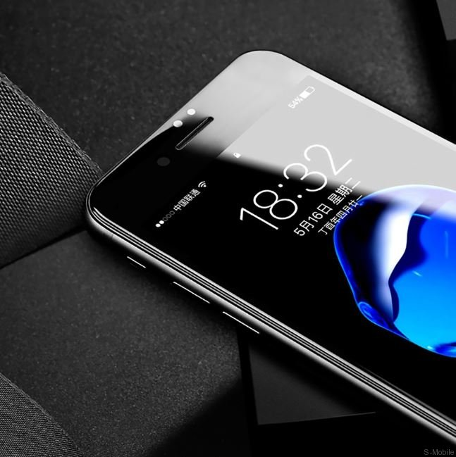 Защитное стекло Rock Full Screen Tempered glass screen protector with soft edge(3D)  iPhone