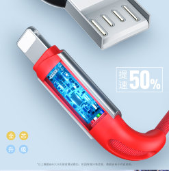 Кабель USB-Lightning Rock знаки зодиака Charge & Sync Cable RCB0682